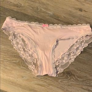 Victoria's Secret Cheeky Pink Panty Size S